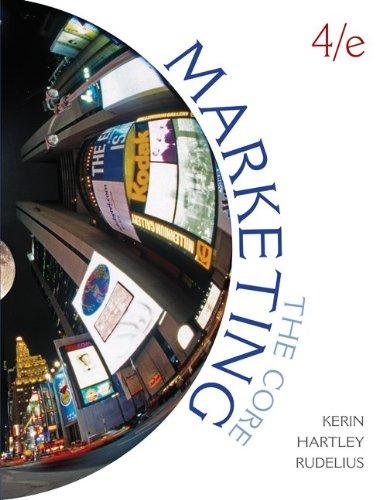 Marketing The Core 4th 2011 edition cover