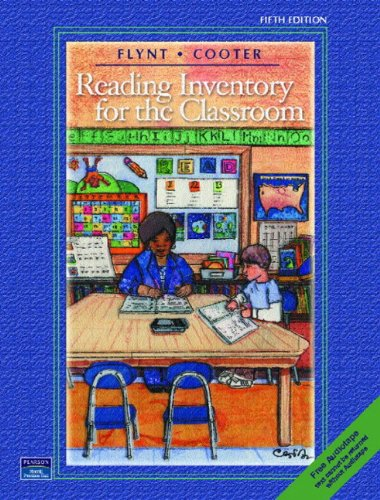Flynt-Cooter Reading Inventory for the Classroom  5th 2004 edition cover