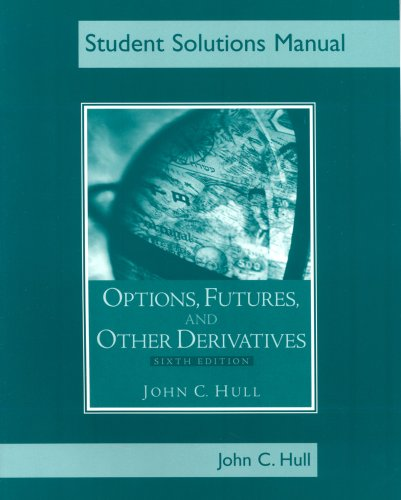 Options, Futures and Other Derivatives  6th 2006 9780131499065 Front Cover