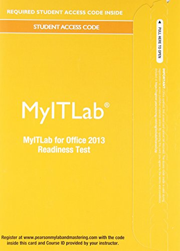 Office 2013 [Readiness Testing]   2014 9780133495065 Front Cover