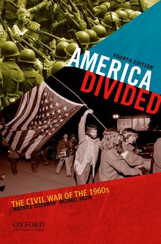 America Divided The Civil War of the 1960s 4th 2012 edition cover