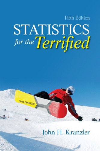 Statistics for the Terrified  5th 2011 edition cover