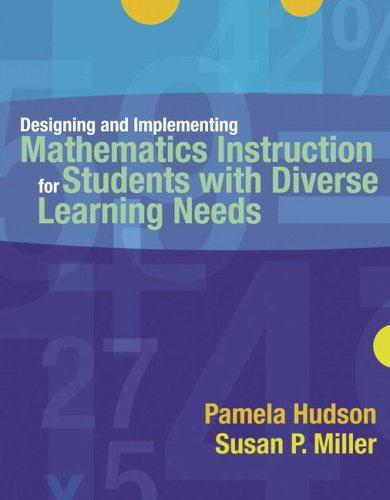 Designing and Implementing Mathematics Instruction for Students with Diverse Learning Needs   2006 edition cover