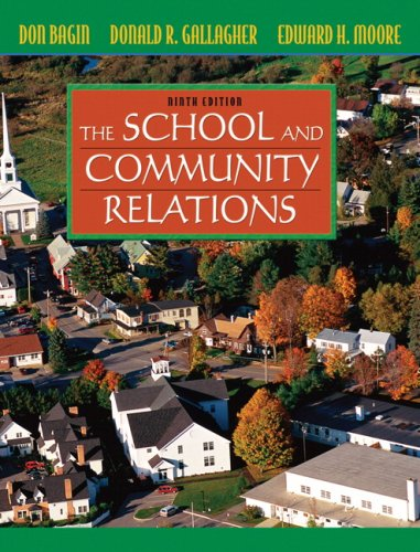 School and Community Relations  9th 2008 edition cover