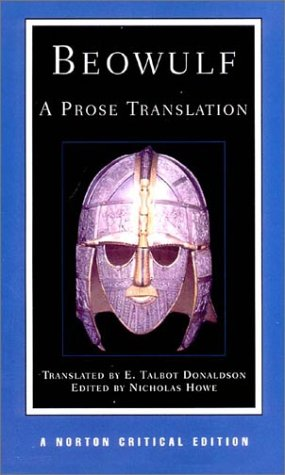Beowulf A Prose Translation 2nd 2002 (Revised) edition cover