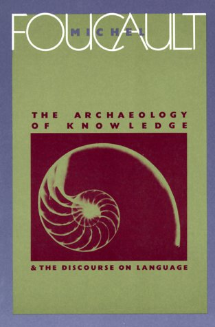 Archaeology of Knowledge   2010 edition cover