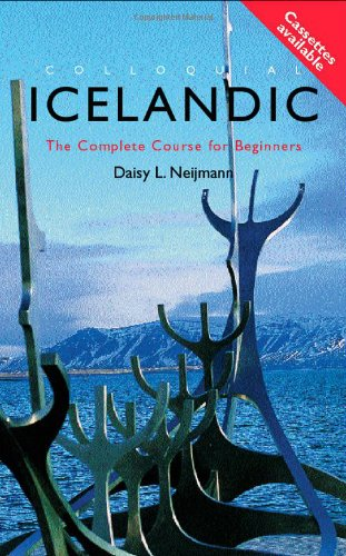 Colloquial Icelandic The Complete Course for Beginners  2002 edition cover