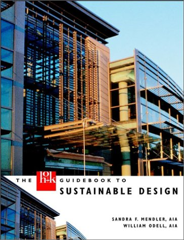 HOK Guidebook to Sustainable Design   2000 edition cover