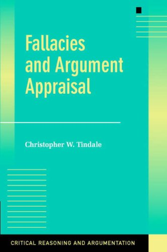 Fallacies and Argument Appraisal   2007 9780521603065 Front Cover