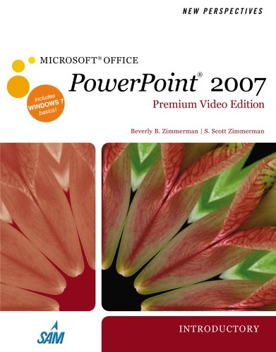 New Perspectives on Microsoft Office PowerPoint 2007, Introductory, Premium Video Edition  N/A 9780538476065 Front Cover