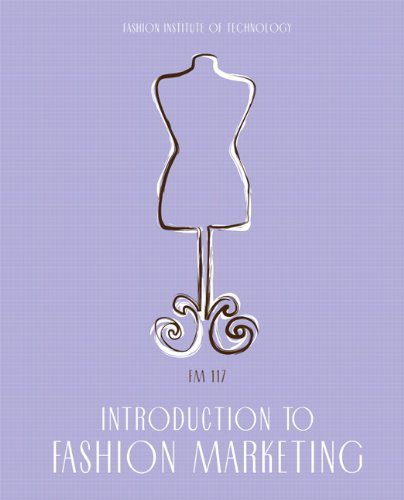 Introduction to Fashion Marketing   2010 edition cover