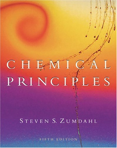 Chemical Principles  5th 2005 edition cover