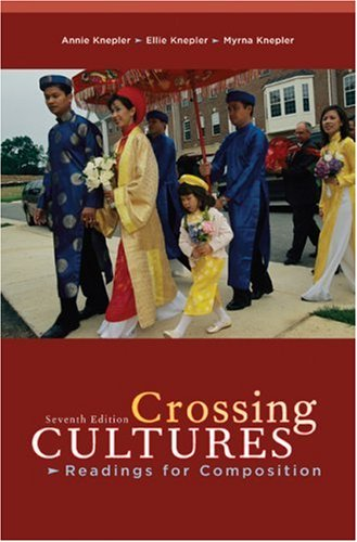 Crossing Cultures Readings for Composition 7th 2008 edition cover