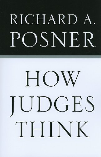 How Judges Think   2008 edition cover