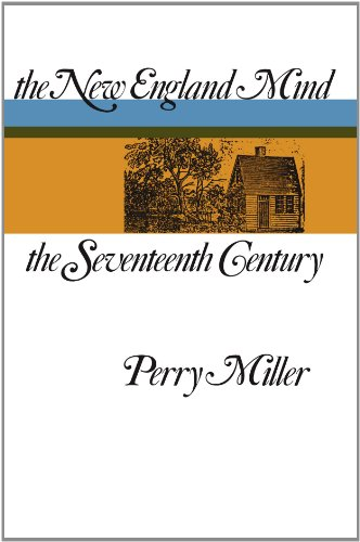 New England Mind The Seventeenth Century  1939 edition cover