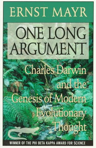 One Long Argument Charles Darwin and the Genesis of Modern Evolutionary Thought  1991 edition cover