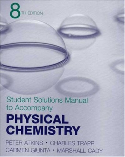 Physical Chemistry  8th 2007 edition cover
