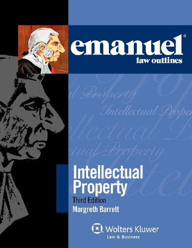 Intellectual Property  3rd 2012 (Student Manual, Study Guide, etc.) 9780735598065 Front Cover