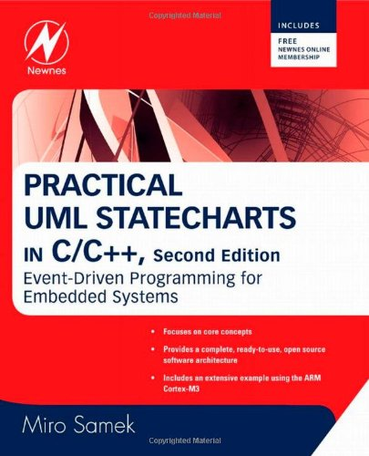 Practical UML Statecharts in C/C++ Event-Driven Programming for Embedded Systems 2nd 2013 (Revised) edition cover