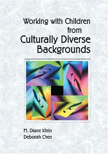 Working with Young Children from Culturally Diverse Backgrounds   2001 edition cover