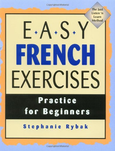 Easy French Exercises Practice for Beginners  1997 edition cover