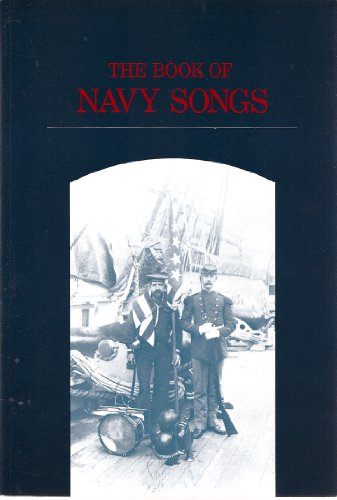 Book of Navy Songs Reprint 9780870211065 Front Cover