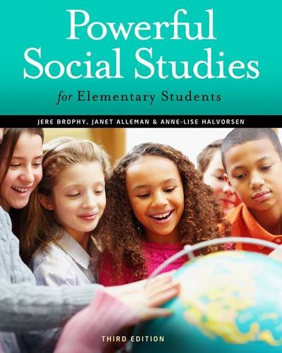 Powerful Social Studies for Elementary Students  3rd 2013 edition cover