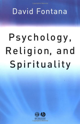 Psychology, Religion and Spirituality   2003 9781405108065 Front Cover