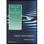 Skills and Values Negotiation N/A edition cover