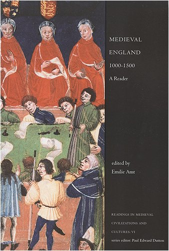 Medieval England, 1000-1500 A Reader 2nd 2000 (Revised) edition cover