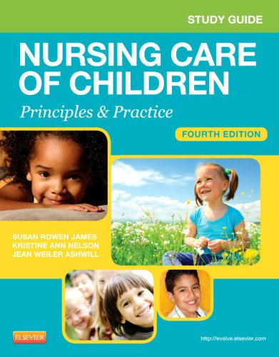 Study Guide for Nursing Care of Children Principles and Practice 4th edition cover