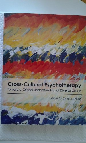 Cross-Cultural Psychotherapy 1st 9781933005065 Front Cover