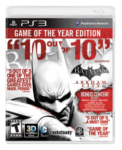 Batman: Arkham City - Game of the Year Edition (Restricted distribution) PlayStation 3 artwork