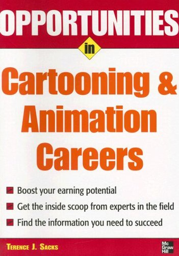 Opportunities in Cartooning and Animation Careers   2008 edition cover