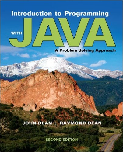 Introduction to Programming with Java A Problem Solving Approach 2nd 2014 edition cover