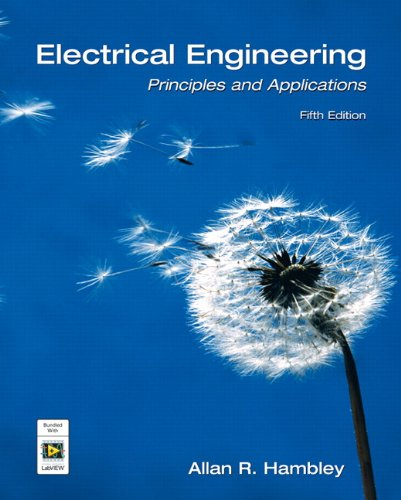 Electrical Engineering Principles and Applications 5th 2011 edition cover