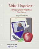 Video Organizer for Introductory Algebra:   2015 edition cover