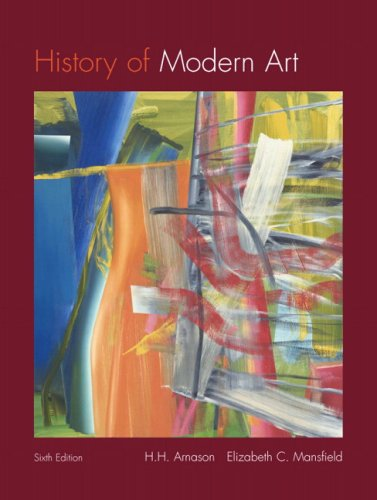 History of Modern Art  6th 2010 edition cover