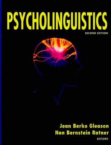 Psycholinguistics  2nd 1998 (Revised) edition cover