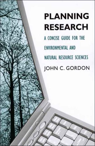 Planning Research A Concise Guide for the Environmental and Natural Resource Sciences  2007 edition cover