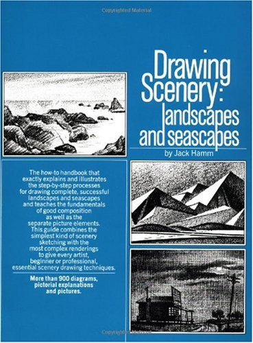 Drawing Scenery Landscapes and Seascapes  1988 edition cover