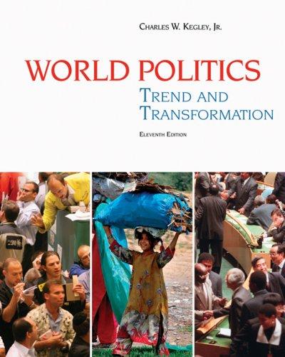 World Politics Trend and Transformation 11th 2007 9780495187066 Front Cover
