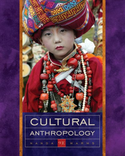 Cultural Anthropology  9th 2007 edition cover