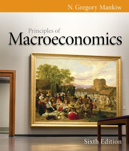 Principles of Macroeconomics  6th 2012 9780538453066 Front Cover