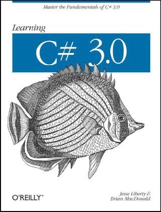 Learning C# 3.0  3rd 2008 (Revised) 9780596521066 Front Cover