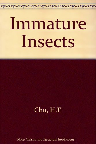 Immature Insects 1st 9780697048066 Front Cover