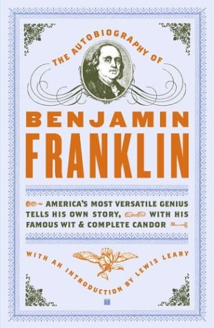 Autobiography of Benjamin Franklin   2004 edition cover
