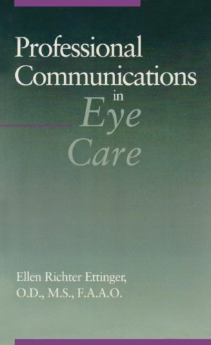 Professional Communications in Eye Care   1993 9780750693066 Front Cover