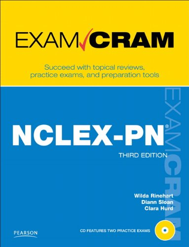 NCLEX-PN Exam Cram  3rd 2012 9780789741066 Front Cover