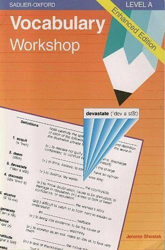 Vocabulary Workshop : Level A, Enhanced Edition  1996 edition cover